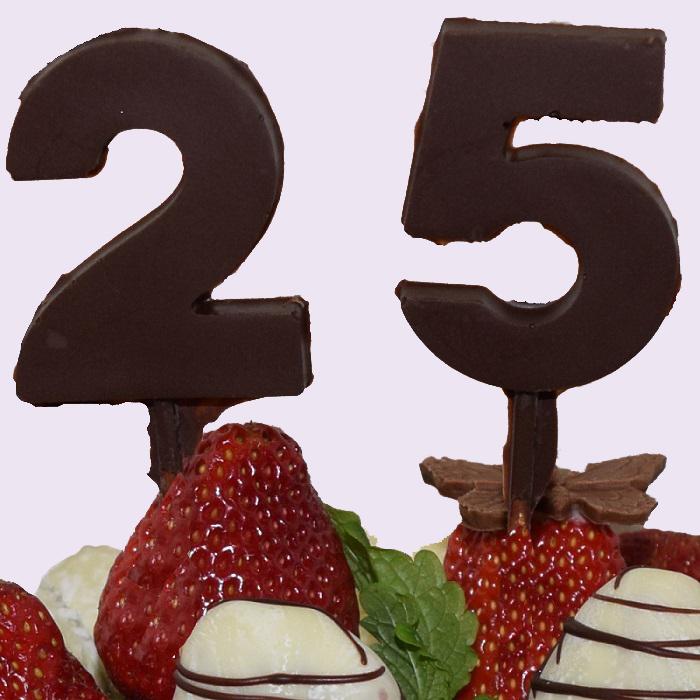 Шоколадная цифра ( 1 шт. )
