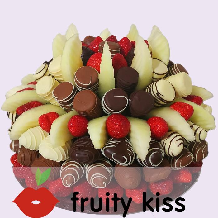 """Торт из фруктов в шоколаде """"Сладкий праздник №2"""""""