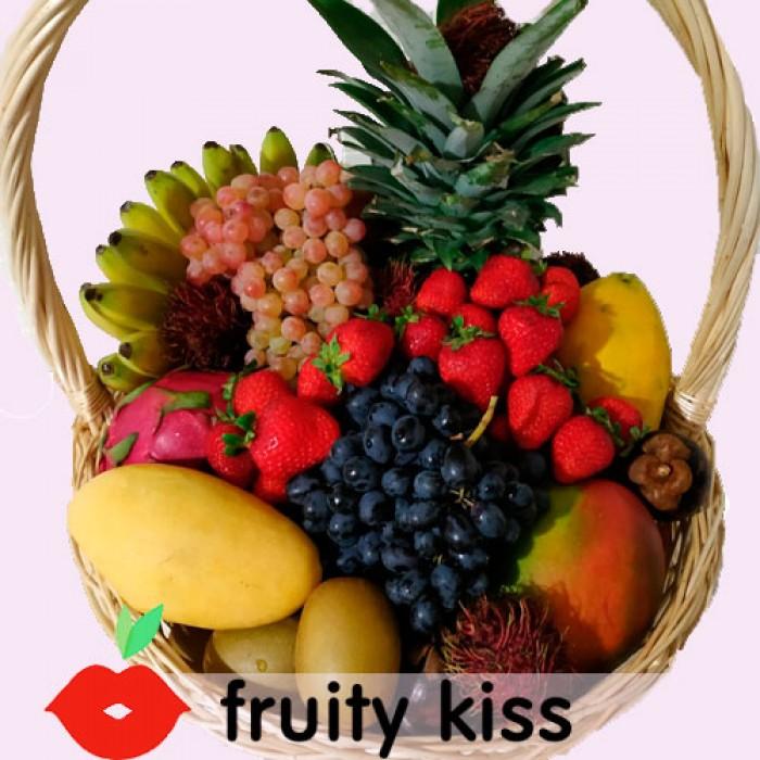 Корзина с экзотическими фруктами №6