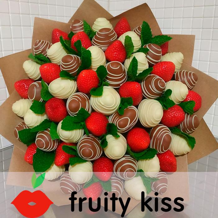 Клубничный букет №8(1) - купить в интернет - магазине fruitykiss.ru