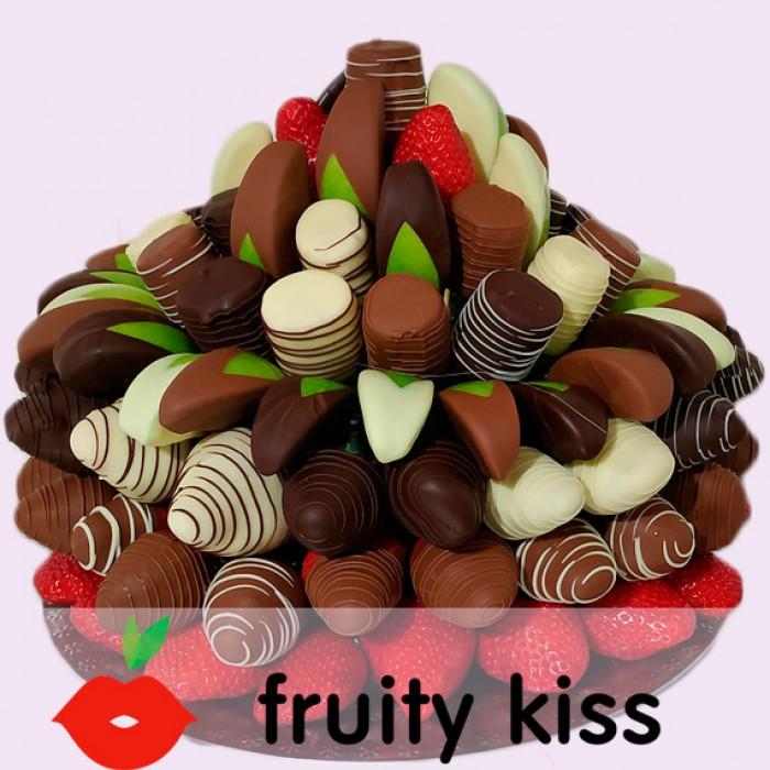 """Торт из фруктов в шоколаде """"Сладкий праздник №4"""""""